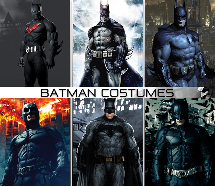 Batman Costumes : batman costume evolution  - Germanpascual.Com