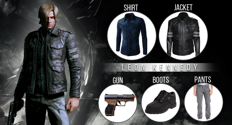Leon Kennedy Costumes Strikes In The Right Way With Amazing Style