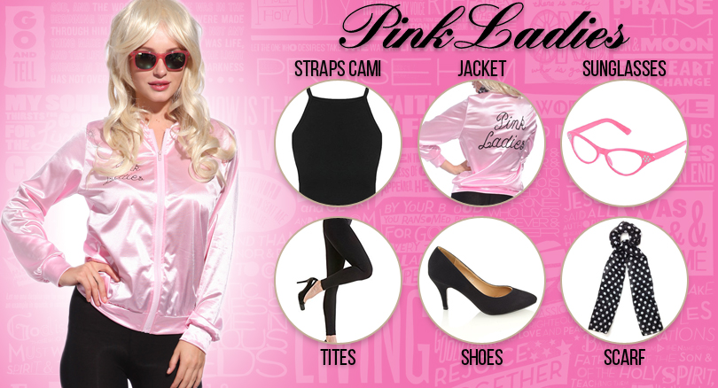 The Stylish Guide To Pink Ladies Costume In Haloween