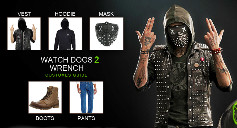 Watch Dogs  Outfit Ideas