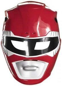 Red Power Ranger Helmet