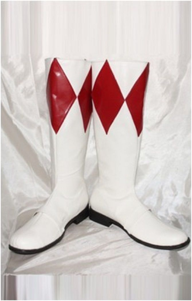 Power ranger Red ranger boots