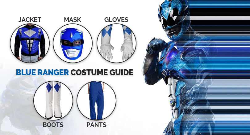 blue rangers costume