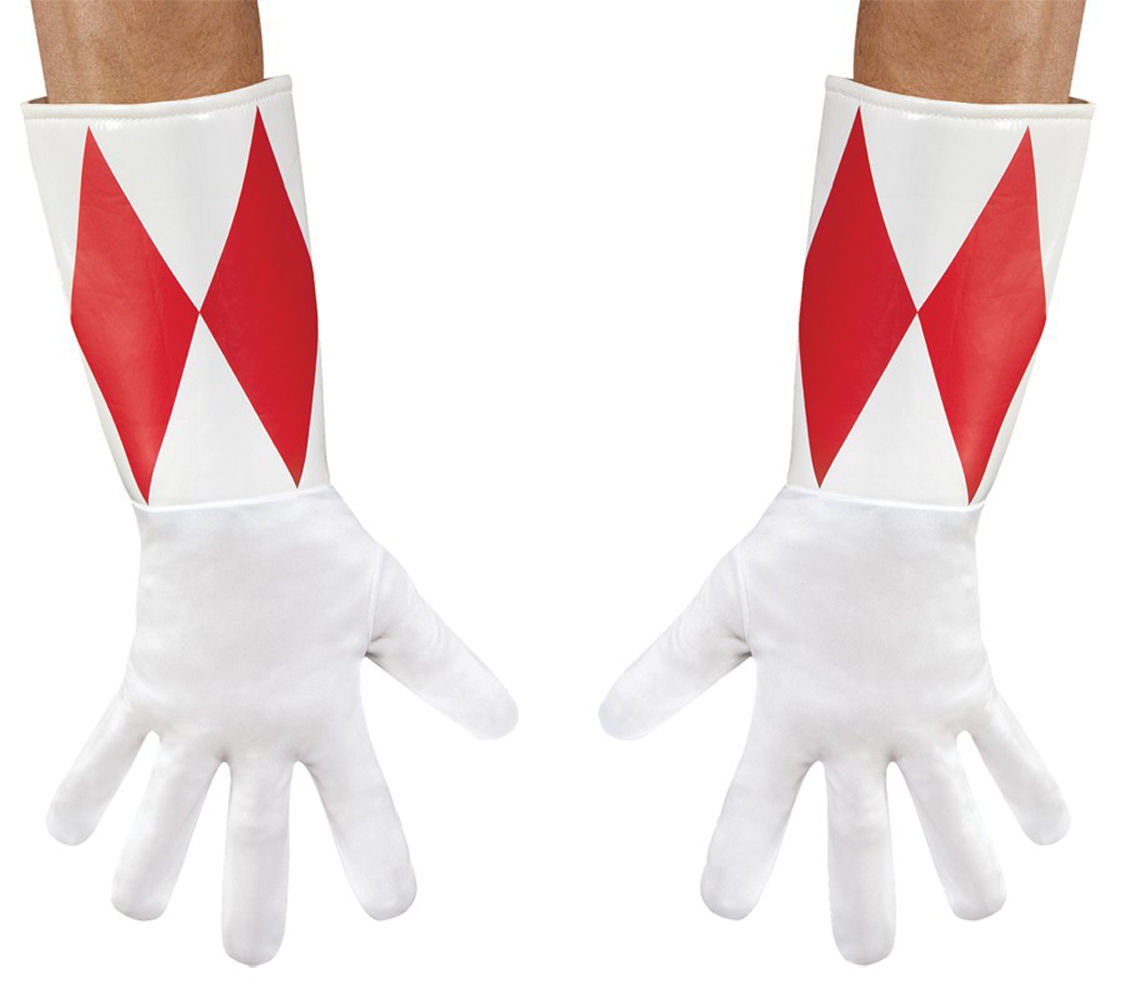 Share this item Sell one like this Power Rangers Red Ranger Adult Gloves