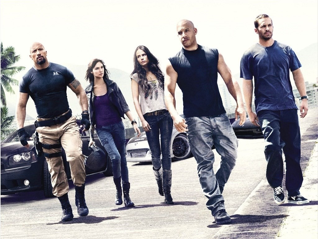 Vin Diesel rock and Fast and Furious 8 team