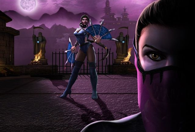 Mortal Kombat Mileena Costume Exciting Appearance