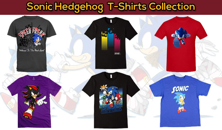 Sonic The Hedgehog T Shirt Smart Casual Wear Collection