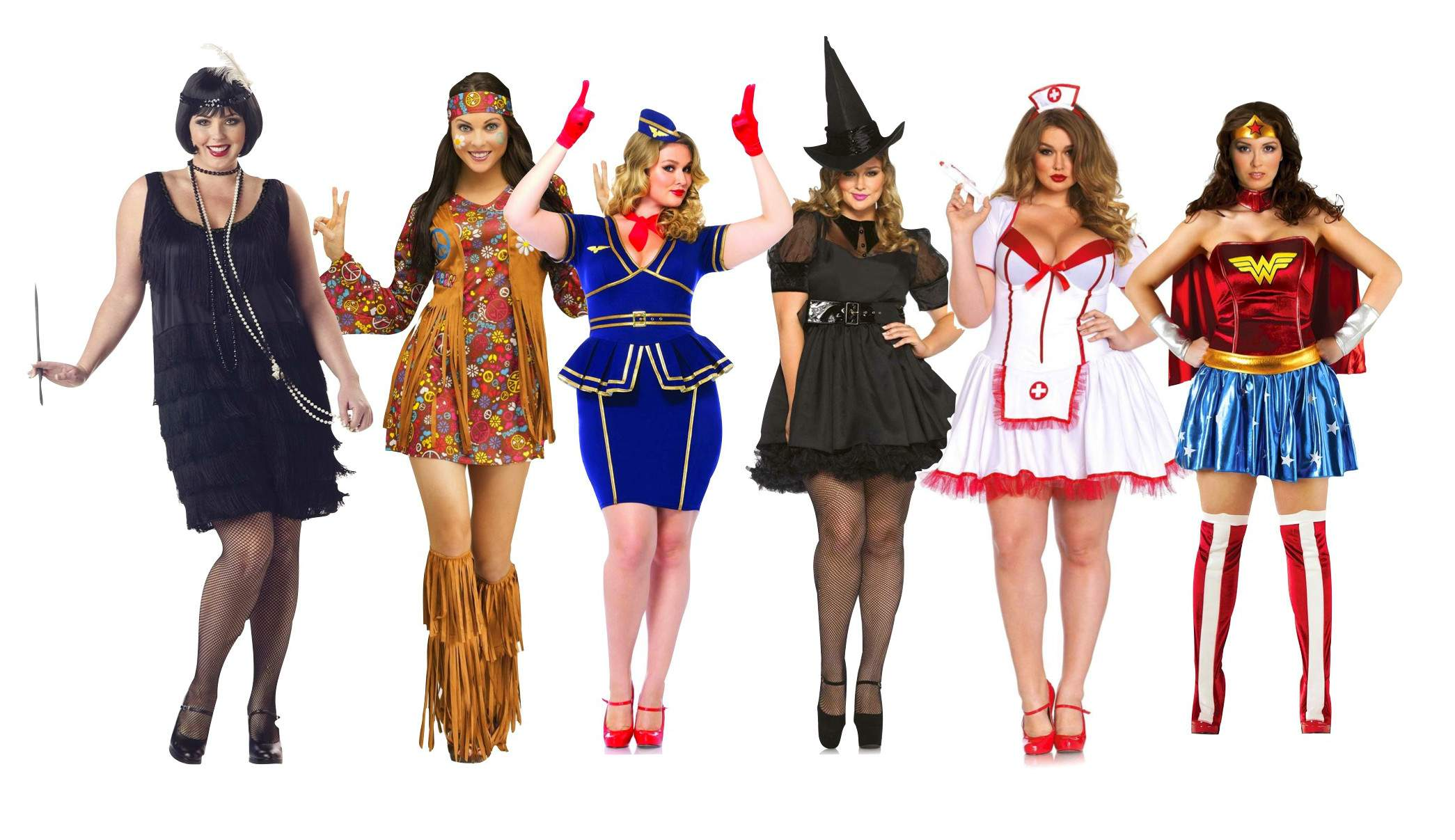 get the beautiful halloween plus size costumes for a pleasing look