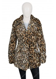 Yellowstone S02 Beth Dutton Leopard Coat