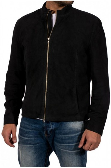Daniel Craig Spectre Suede Leather Jacket