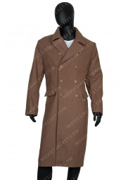 David Tennant Tenth Doctor Long Coat
