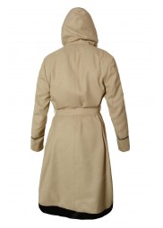 13th Doctor Who Beige Hooded Coat