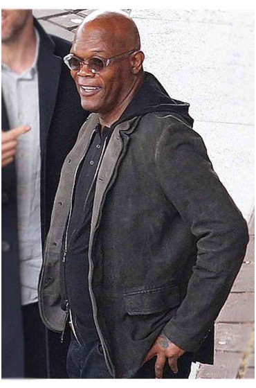 Samuel L Jackson The Hitman's Bodyguard Jacket