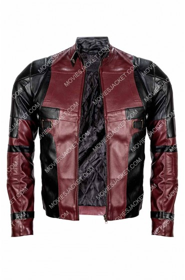 Ryan Reynolds Deadpool 2 Front Zip Closure Jacket