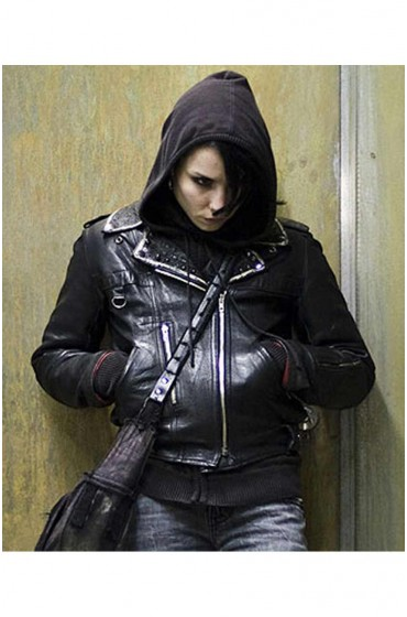 The Girl In The Spiders Web Lisbeth Salander Black Jacket