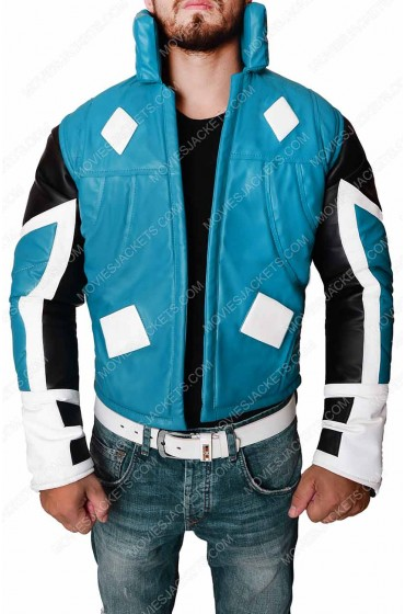 Adam Brashear Comic Blue Marvel Jacket