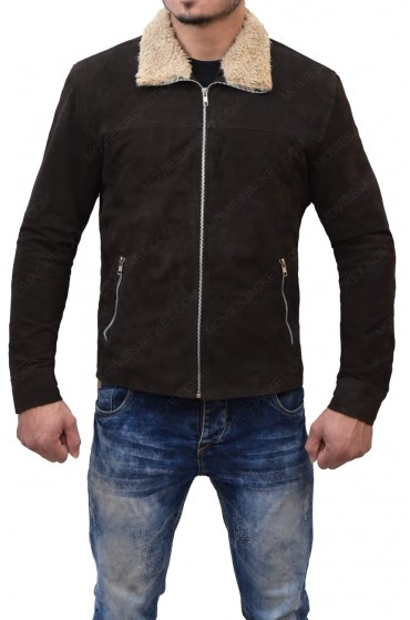 The Walking Dead Rick Grimes Suede Leather Jacket