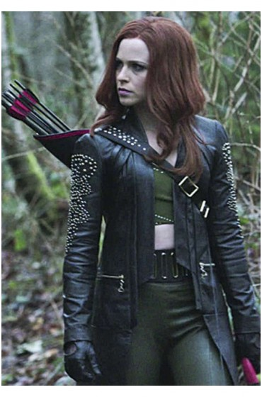 Arrow Amy Gumenick Cupid Leather Coat