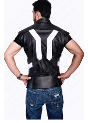 "Avengers Age of Ultron Thor Leather Vest ""Free T-Shirt"""