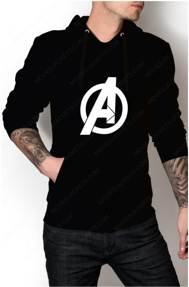 "Avengers Logo Pullover Hoodie ""Free T-Shirt"""