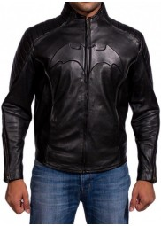 Bruce Wayne Batman Begins Leather Jacket