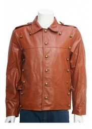 Bill Cliff Secord The Rocketeer Leather Jacket