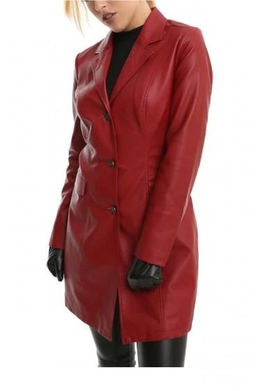 Buffy Summers The Vampire Buffy Summers Red Coat