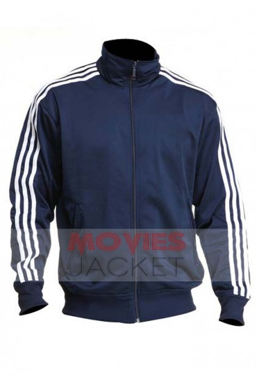 Chappie Movie Hugh Jackman Adidas Firebird Track Jacket
