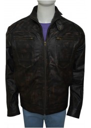 Christopher Egan Dominion Leather Jacket