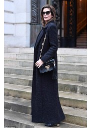 Cindy Crawford Wool Trench Coat
