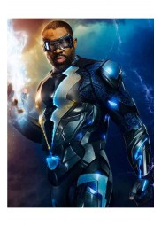 Cress Williams Black Lightning Leather Jacket