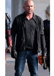 Crisis On Earth X Mick Rory Dominic Purcell Jacket