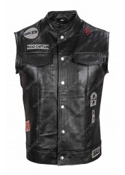 Deacon St. John Days Gone Leather Vest
