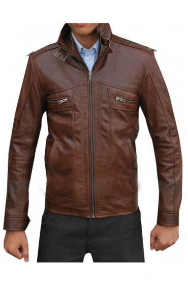 Dead Rising Watchtower Jesse Metcalfe Leather Jacket