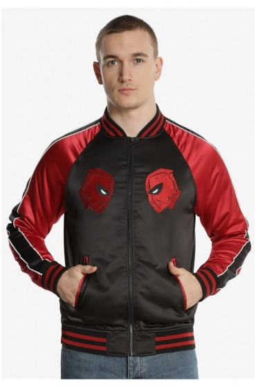 Deadpool Marvel Souvenir Varsity Jacket