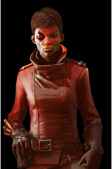 Dishonored Death Of The Outsider Billie Lurk Leather Jacket
