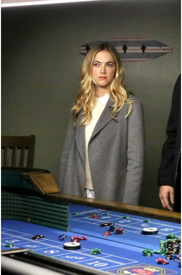 Double Down NCIS Jack Sloane Grey Coat
