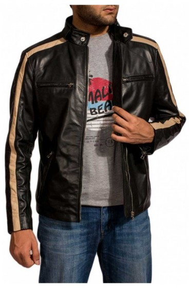 Eric Johnson TV Series Flash Gordon Leather Jacket