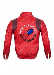 Good for Health Bad for Education Kaneda Akira Parachute Jacket
