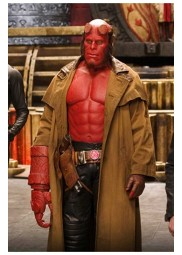 Hellboy Ii The Golden Army Trench Cotton Coat