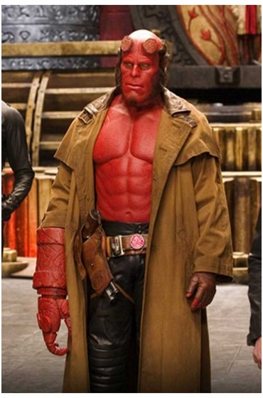 Hellboy Ii The Golden Army Trench Leather Coat