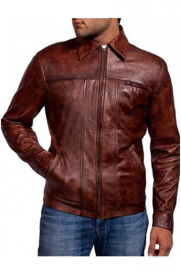 Inception Cobb Leonardo Dicaprio Leather Jacket