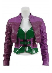 Injustice 2 Harley Quinn Purple Jacket