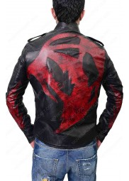 James Heller Game Prototype 2 Leather Jacket