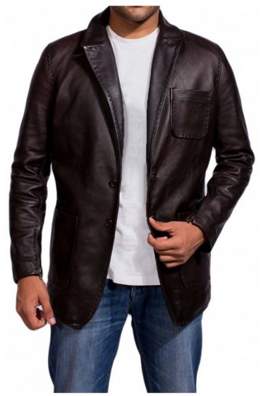 Jason Statham Wild Card Movie Nick Escalante Leather Jacket