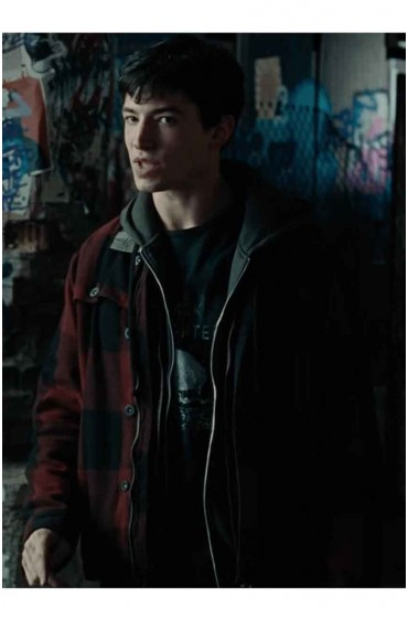 Justice League Ezra Miller Jacket