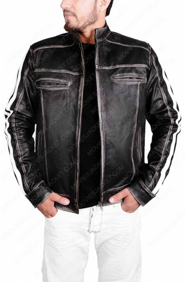 Leon Kennedy Resident Evil Vendetta Leather Jacket