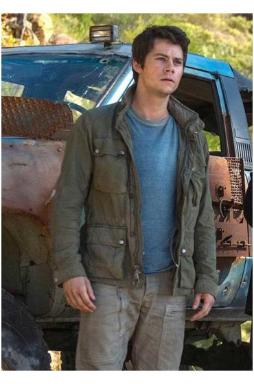 Maze Runner The Death Cure Thomas Green Jacket