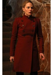OUAT Emma Swan Red Trench Coat