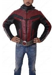Ant-Man and the Wasp Scott Lang Leather Jacket